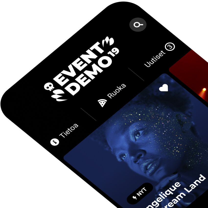 EventApp: Festarisovelluksen UI/UX ja prototyyppi (2019)