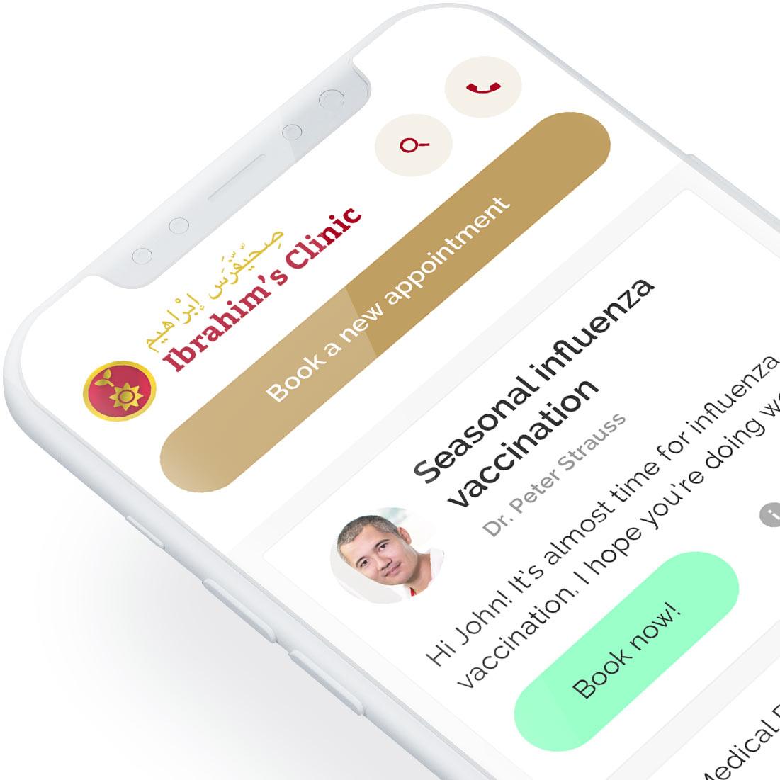ClinicApp: Terveyskeskuksen UI/UX ja prototyyppi (2018)